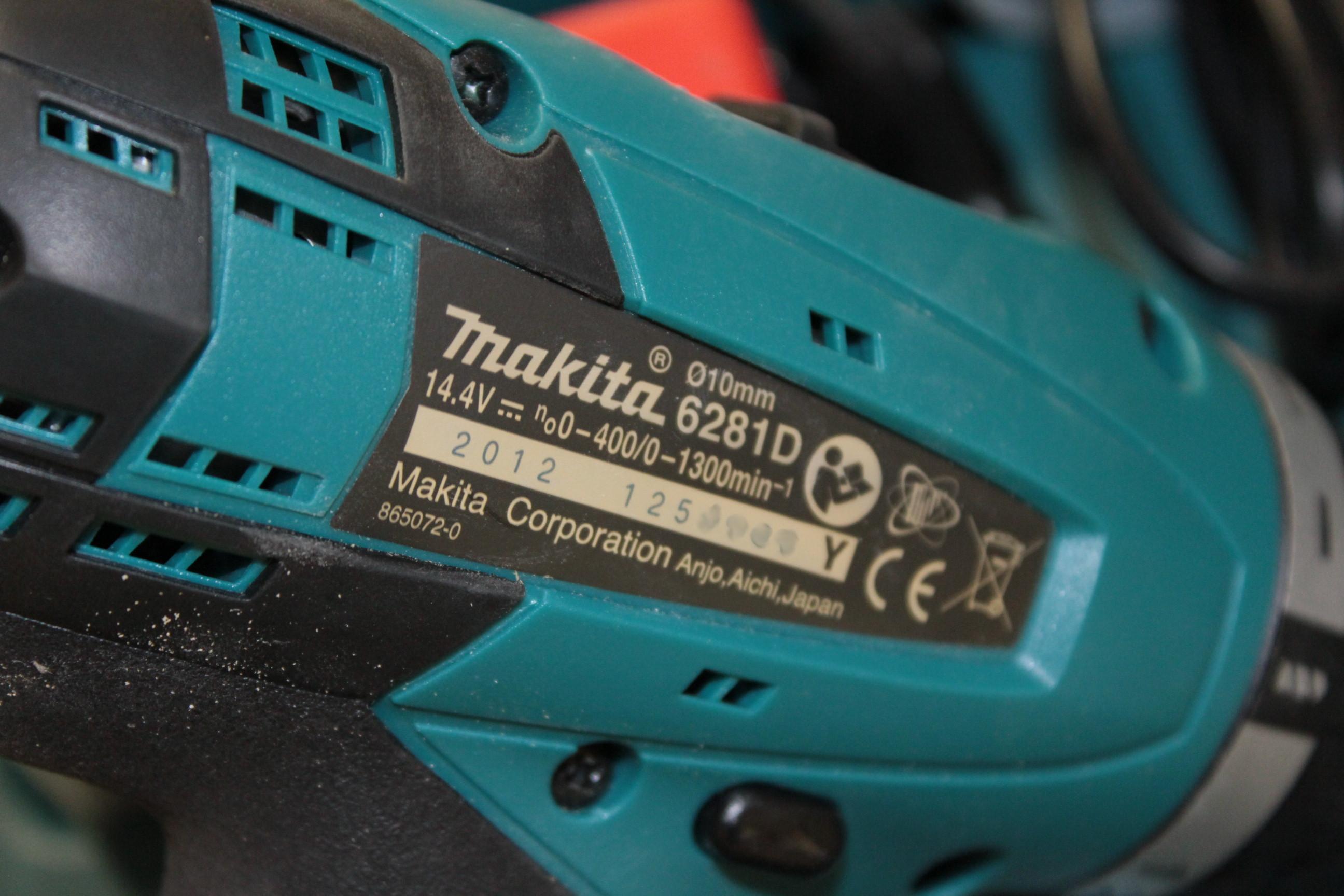 Visseuse makita 6281d sans batterie